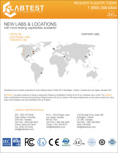 New Labs & Locations